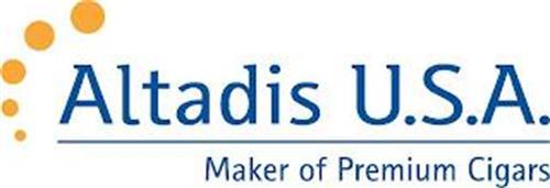 ALTADIS U.S.A. MAKER OF PREMIUM CIGARS
