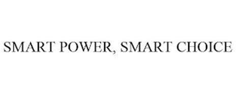SMART POWER, SMART CHOICE