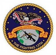 SEMPER FIDELIS 13TH MARINE EXPEDITIONARY UNIT THE FIGHTING 13TH
