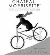 CHATEAU MORRISETTE HAND-CRAFTED WINES SINCE 1978 TABLE WINE THE BLACK DOG
