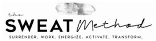 THE SWEAT METHOD SURRENDER.WORK. ENERGIZE. ACTIVATE. TRANSFORM.