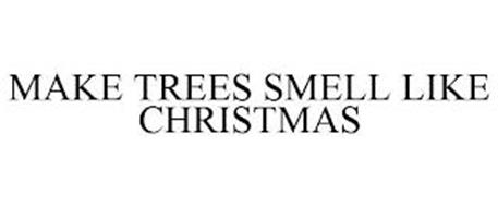 MAKE TREES SMELL LIKE CHRISTMAS