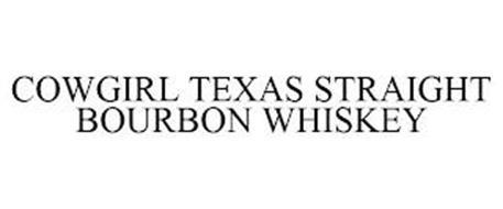 COWGIRL TEXAS STRAIGHT BOURBON WHISKEY