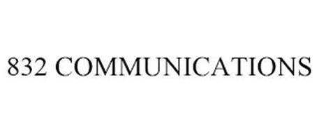832 COMMUNICATIONS