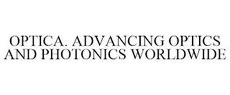 OPTICA. ADVANCING OPTICS AND PHOTONICS WORLDWIDE