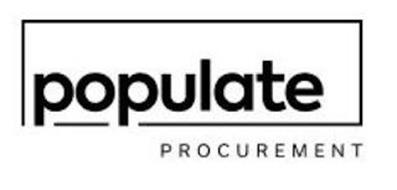POPULATE PROCUREMENT
