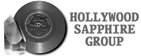 HOLLYWOOD SAPPHIRE GROUP BERLINER CONCERT GRAND IMPROVED GRAM-O-PHONE RECORD E. BERLINER
