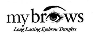 MYBROWS LONG LASTING EYEBROW TRANSFERS