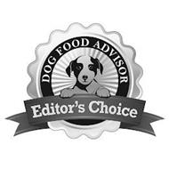 DOG FOOD ADVISOR EDITOR'S CHOICE