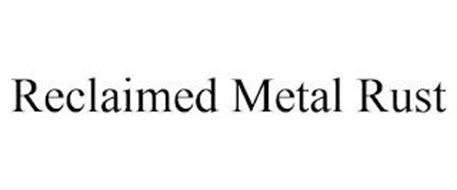 RECLAIMED METAL RUST