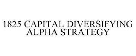 1825 CAPITAL DIVERSIFYING ALPHA STRATEGY