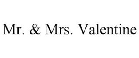 MR. & MRS. VALENTINE