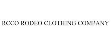 RCCO RODEO CLOTHING COMPANY