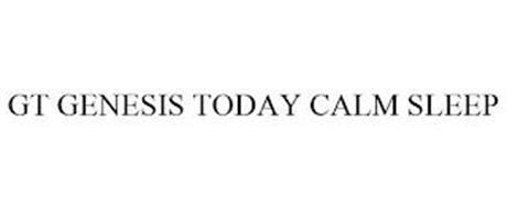 GT GENESIS TODAY CALM SLEEP