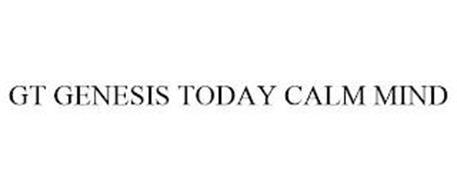 GT GENESIS TODAY CALM MIND