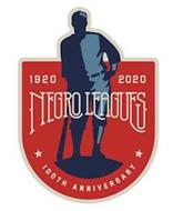 NEGRO LEAGUES 1920 2020 100TH ANNIVERSARY