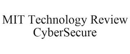 MIT TECHNOLOGY REVIEW CYBERSECURE