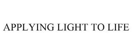 APPLYING LIGHT TO LIFE