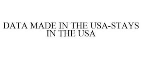 DATA MADE IN THE USA-STAYS IN THE USA