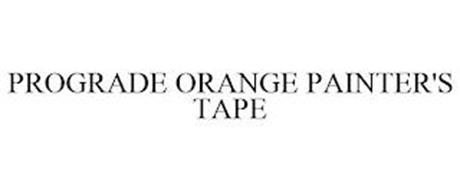 PROGRADE ORANGE PAINTER'S TAPE