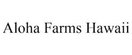 ALOHA FARMS HAWAII
