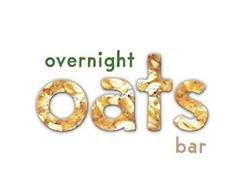 OVERNIGHT OATS BAR