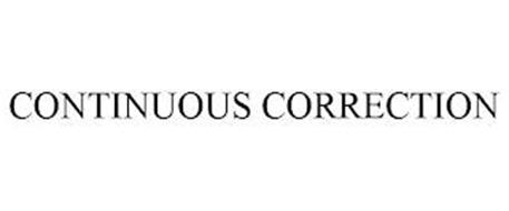 CONTINUOUS CORRECTION