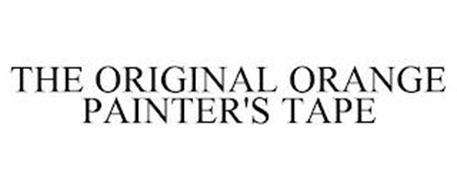 THE ORIGINAL ORANGE PAINTER'S TAPE