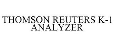 THOMSON REUTERS K-1 ANALYZER