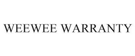 WEEWEE WARRANTY