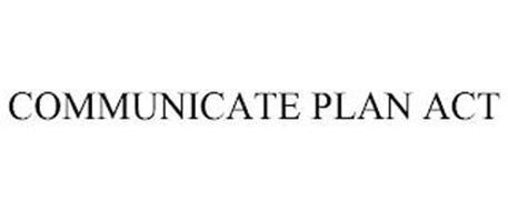 COMMUNICATE PLAN ACT