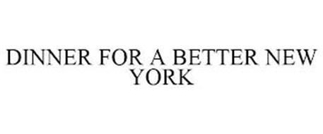 DINNER FOR A BETTER NEW YORK