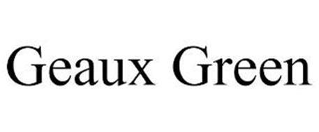 GEAUX GREEN