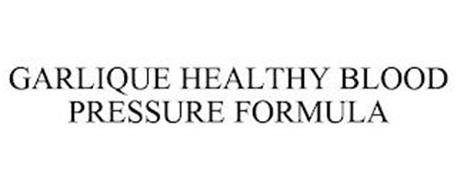 GARLIQUE HEALTHY BLOOD PRESSURE FORMULA
