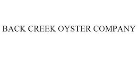 BACK CREEK OYSTER COMPANY