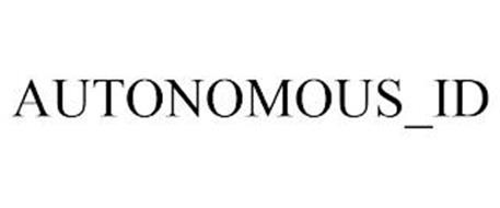 AUTONOMOUS_ID