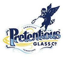 PRETENTIOUS GLASS CO. KNOXVILLE TENNESSEE
