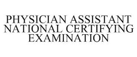 PHYSICIAN ASSISTANT NATIONAL CERTIFYINGEXAMINATION
