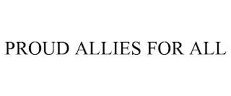 PROUD ALLIES FOR ALL