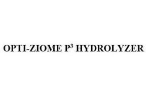 OPTI-ZIOME P3 HYDROLYZER