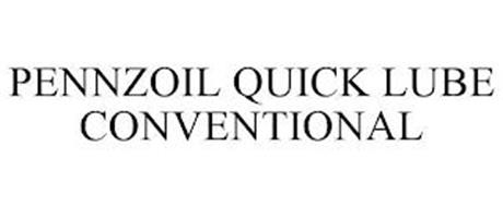 PENNZOIL QUICK LUBE CONVENTIONAL