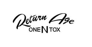 RETURN AGE ONE N TOX