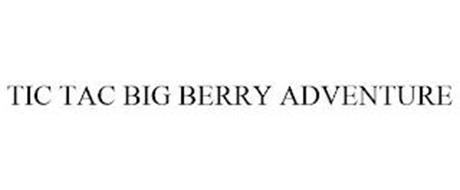 TIC TAC BIG BERRY ADVENTURE