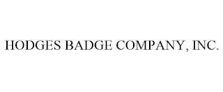 HODGES BADGE COMPANY, INC.