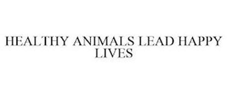 HEALTHY ANIMALS LEAD HAPPY LIVES