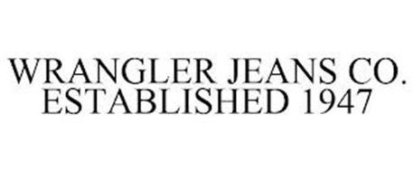 WRANGLER JEANS CO. ESTABLISHED 1947