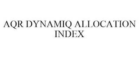 AQR DYNAMIQ ALLOCATION INDEX