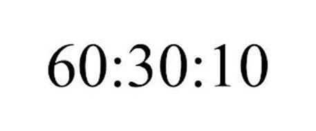 60:30:10
