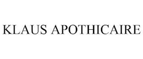 KLAUS APOTHICAIRE