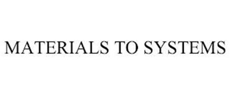 MATERIALS TO SYSTEMS